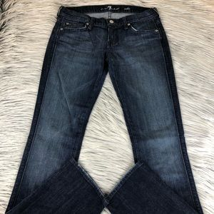 7 for All Mankind Edie straight leg jeans 28